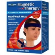 Magnetic Therapy Neck + Head Wrap f...